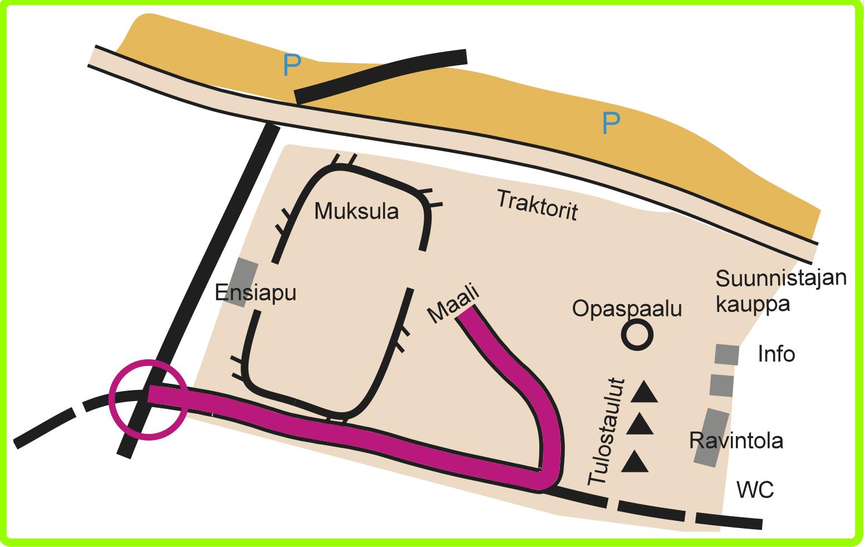 Kilpailukeskus Rakas-rastit 5.5.2016